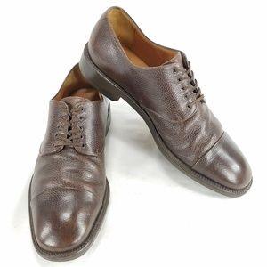 Salvatore Ferragamo Leather Oxford Mens Shoes Sz 9